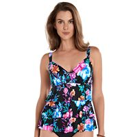Women's Upstream Hip minimizer Tiered One-Piece Swimsuit