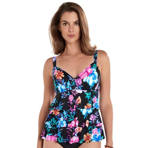 Women's Upstream Hip minimizer Tiered One-Piece Swimsuit