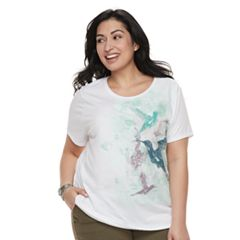 Plus Size SONOMA Goods for Life™ Graphic Crewneck Tee
