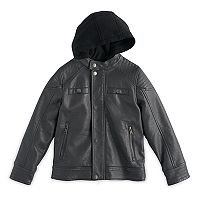 Boys 8-20 Urban Republic Faux-Leather Moto Jacket
