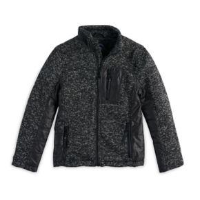 Boys 8-20Urban Republic Melange Fleece Jacket