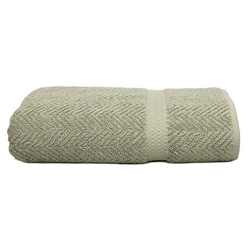 Linum Home Textiles Herringbone Bath Towel