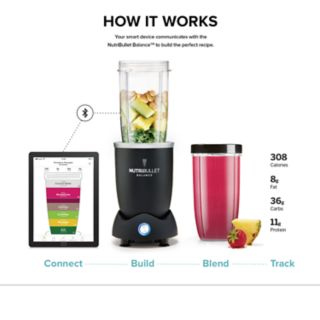 NutriBullet Balance 8-pc. Smart Blender Set