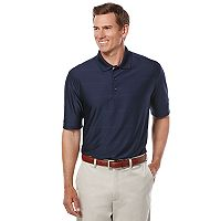 Big & Tall Jack Nicklaus Regular-Fit StayVent Striped Golf Polo