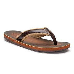 Men's United Supply Co. Two-Tone Flip-Flops