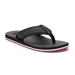 Men's United Supply Co. Quilted Flip-Flops