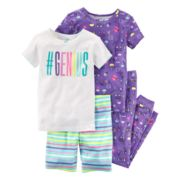 Girls 4-12 Carter's Tops, Shorts & Bottoms Pajama Set