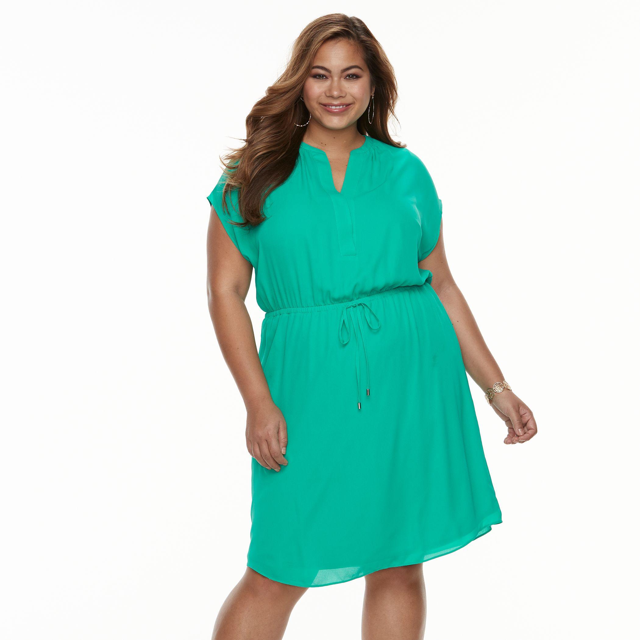 Olive Green Formal Dress for Juniors
