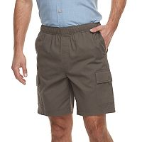 Men's Croft & Barrow® Classic-Fit Full-Elastic Twill Cargo Shorts
