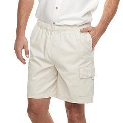 Men's Croft & Barrow® Classic-Fit Full-Elastic Twill Cargo Shorts