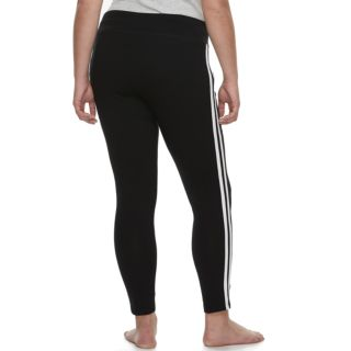 Plus Size SO® Side Stripe Yoga Leggings
