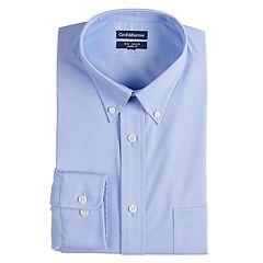 Men's Croft & Barrow® Regular-Fit No-Iron Stretch Dress Shirt