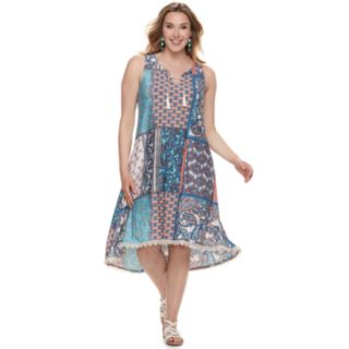 Plus Size World Unity Tassle Front Dress