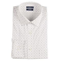 Men's Croft & Barrow® Regular-Fit Non-Iron Stretch Dress Shirt