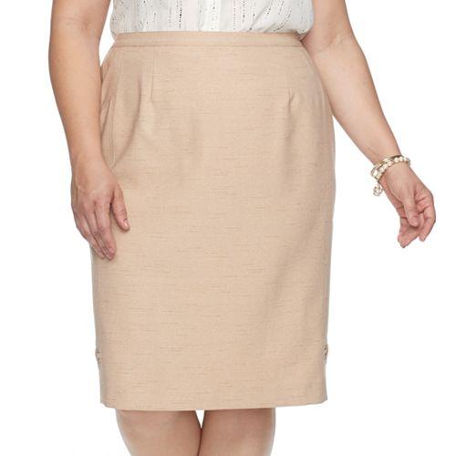 Plus Size Alfred Dunner Studio Skirt