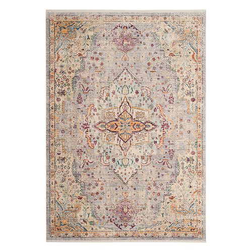 Safavieh Illusion Avianna Framed Floral Rug