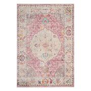 Safavieh Illusion Sienna Framed Floral Rug