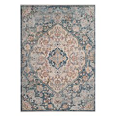 Safavieh Illusion Aiden Framed Floral Rug