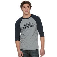 Men's Vans Strait Up Raglan Tee
