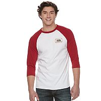 Men's Vans Bear Badge Raglan Tee