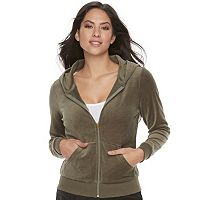 Women's Juicy Couture Embellished Hoodie Jacket