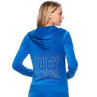 Women's Juicy Couture Embellished Hoodie Jacket