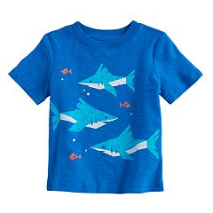 Baby Boy Jumping Beans® Sharks 'King of the Ocean' Graphic Tee
