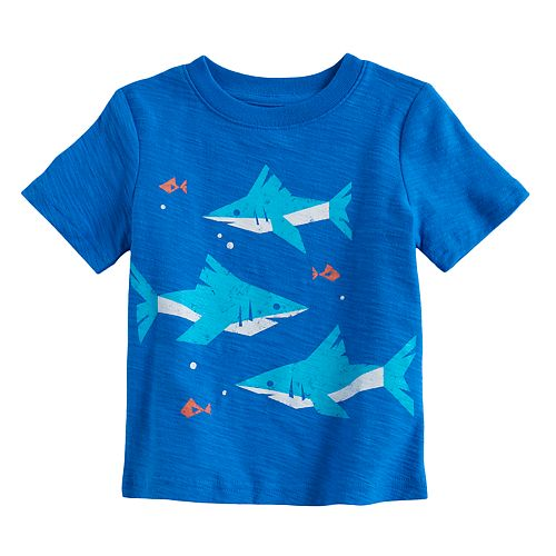 "Baby Boy Jumping Beans® Sharks ""King of the Ocean"" Graphic Tee"