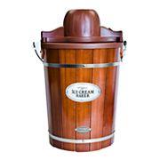 Nostalgia Electrics 6-qt. Ice Cream Machine with Wood Bucket