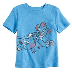 Disney's The Lion Guard Toddler Boy Kion & Bunga Slubbed Graphic Tee by Jumping Beans®