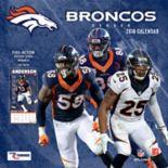 Denver Broncos 2018 Wall Calendar