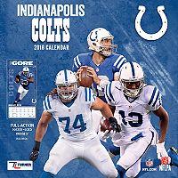 Indianapolis Colts 2018 Wall Calendar