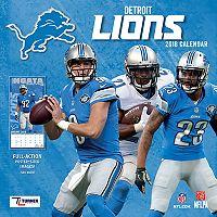 Detroit Lions 2018 Wall Calendar