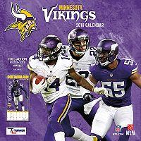Minnesota Vikings 2018 Wall Calendar