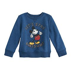 Disney's Mickey Mouse Toddler Boy Pullover Softest Sweatshirt by Jumping Beans®