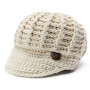 Women's Scala Radar Button Hat