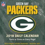 Green Bay Packers 2018 Daily Box Calendar