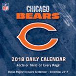 Chicago Bears 2018 Daily Box Calendar