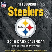 Pittsburgh Steelers 2018 Daily Box Calendar