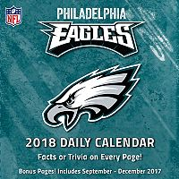 Philadelphia Eagles 2018 Daily Box Calendar