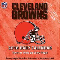 Cleveland Browns 2018 Daily Box Calendar