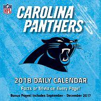 Carolina Panthers 2018 Daily Box Calendar