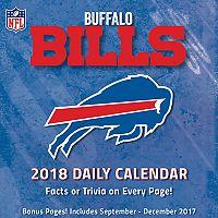 Buffalo Bills 2018 Daily Box Calendar