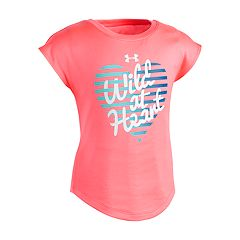 Toddler Girl Under Armour 'Wild At Heart' Graphic Tee