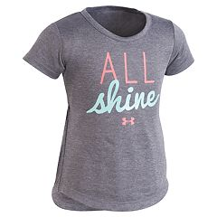 Toddler Girl Under Armour 'All Shine' Graphic Tee