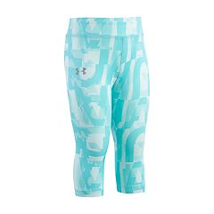 Toddler Girl Under Armour Logo Print Capris