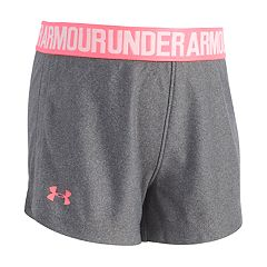 Toddler Girl Under Armour Logo Graphic Shorts