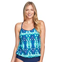Women's Mazu Swim Blouson Tankini Top