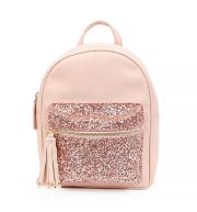 OMG Accessories Glitter Embellished Mini Backpack