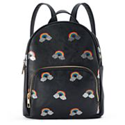 Glittery Rainbow Mini Backpack